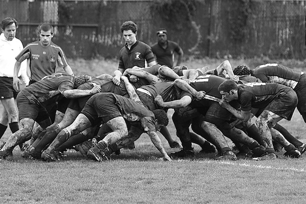 Rugby Tours New Zealand scrum