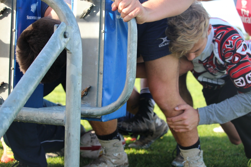 Rugby Tours New Zealand scrum machine semi final