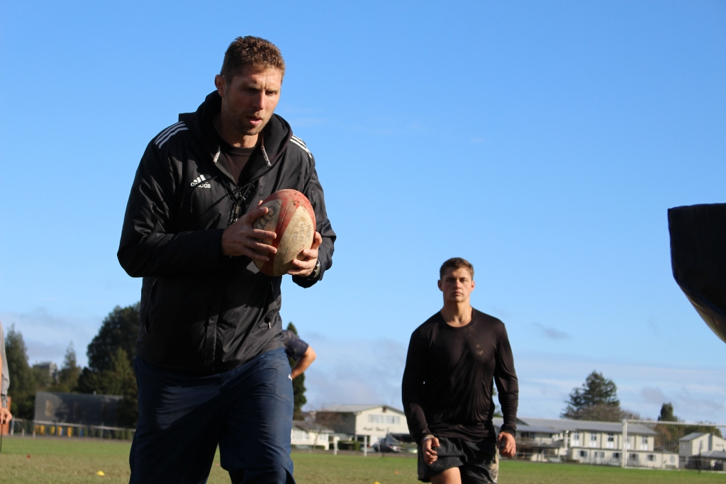 Rugby Tours New Zealand contact drill semi final