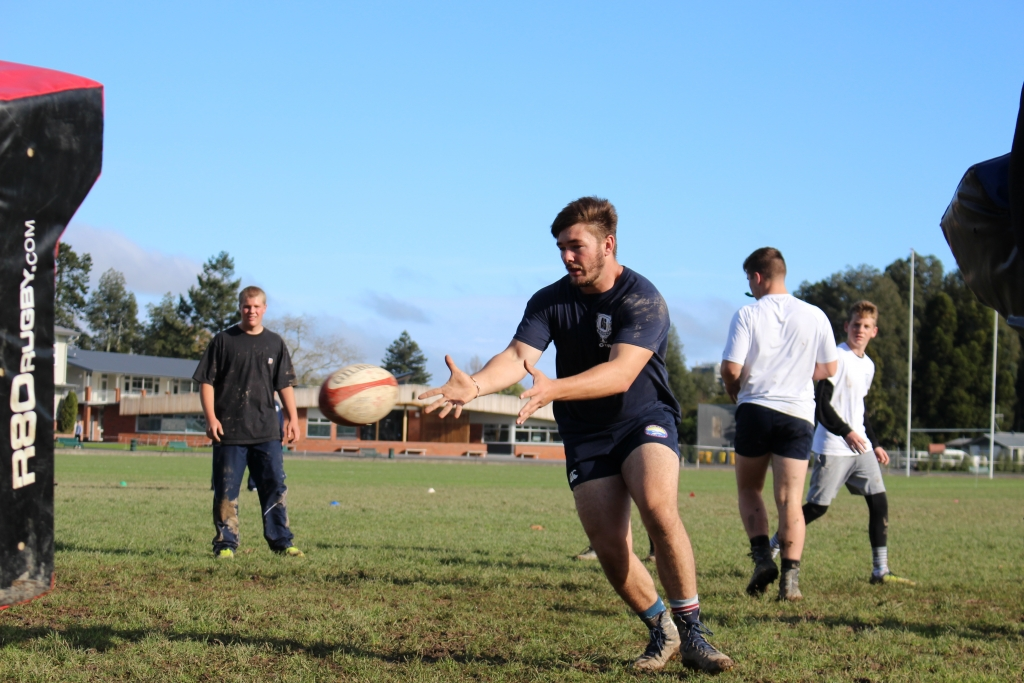 Rugby Tours New Zealand contact drill