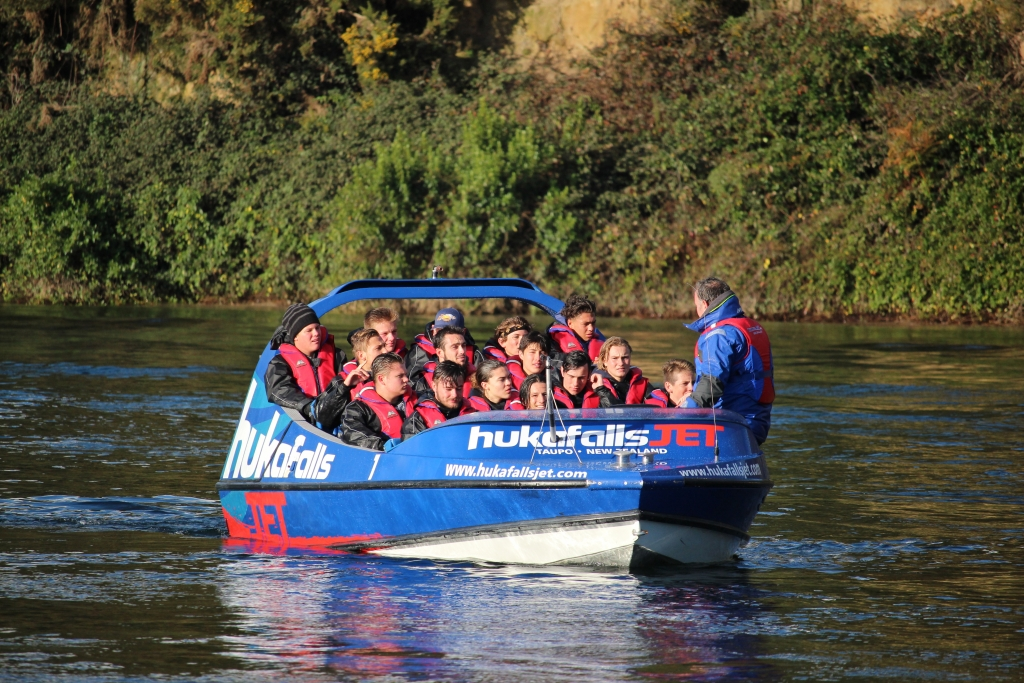 Rugby Tours New Zealand jet boat semi final