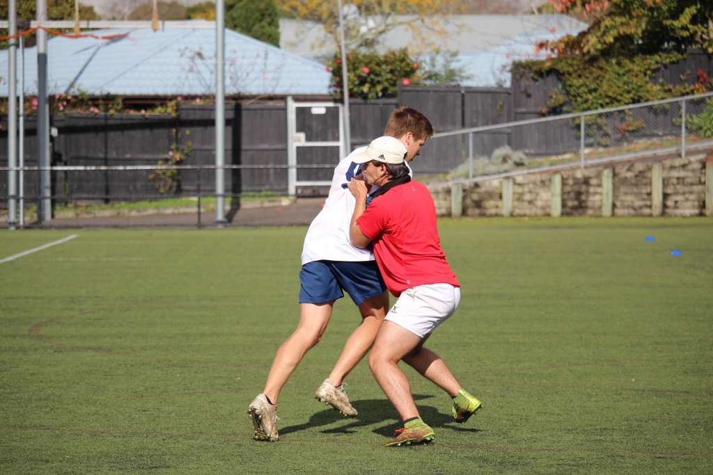 Rugby Tours New Zealand tackle practice