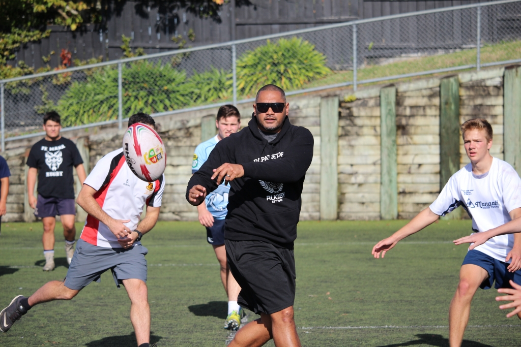 Rugby Tours New Zealand touch