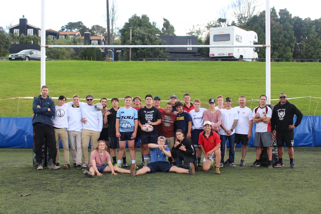 Rugby Tours New Zealand team photo