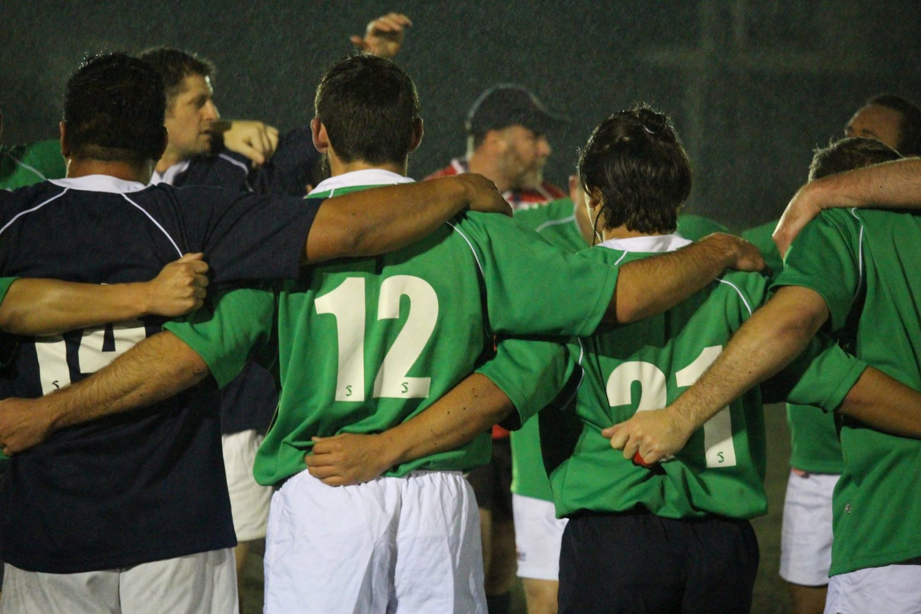 Rugby Tours New Zealand huddle