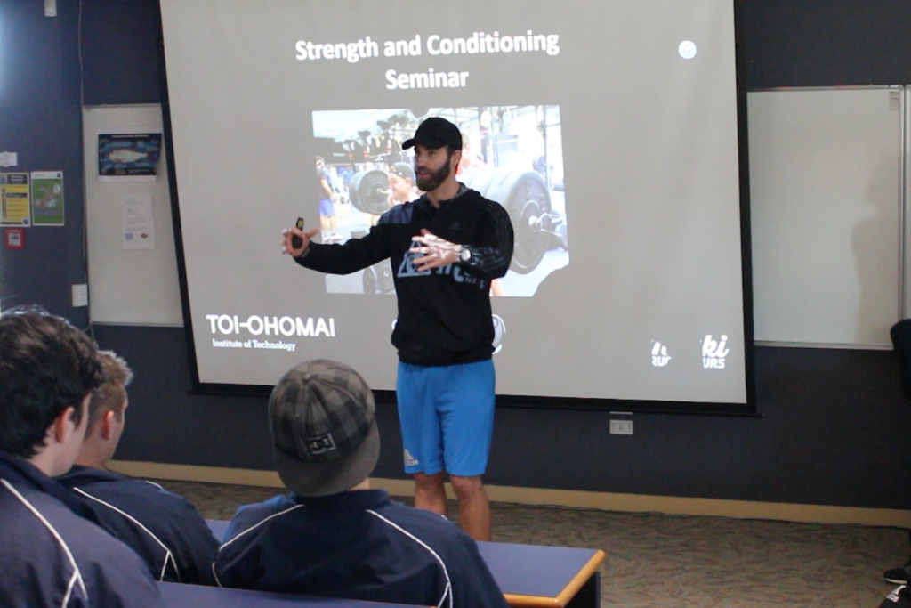 Rugby Tours New Zealand nutrition seminars semi final