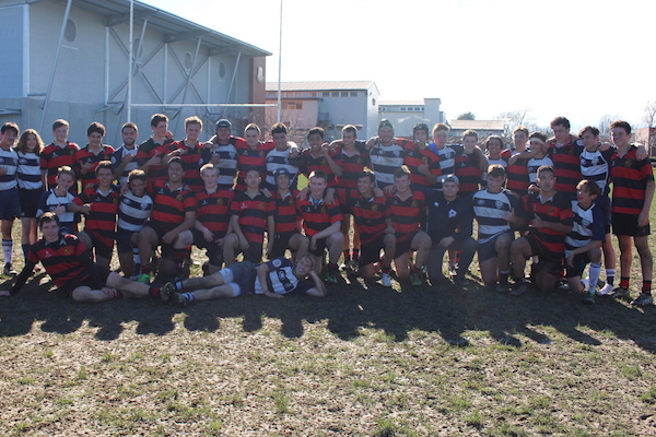 Rugby Tours New Zealand team photo semi final